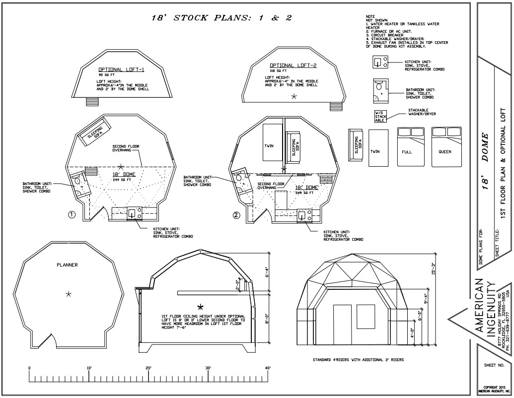 modern dome house plans geodesic home aidomes 18ft plans8 kits for
