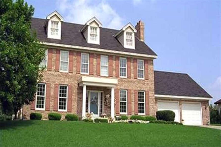home plan 20981