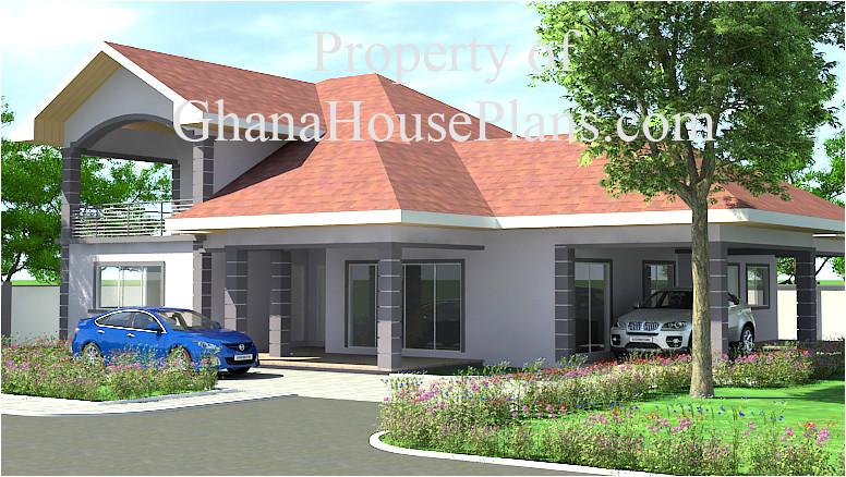 ghana house landscape design