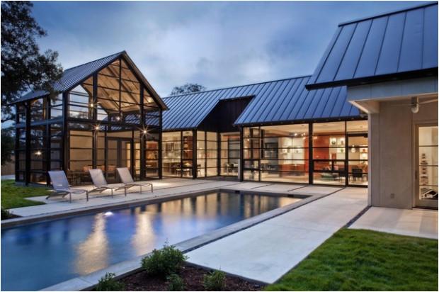 18 modern glass house exterior designs