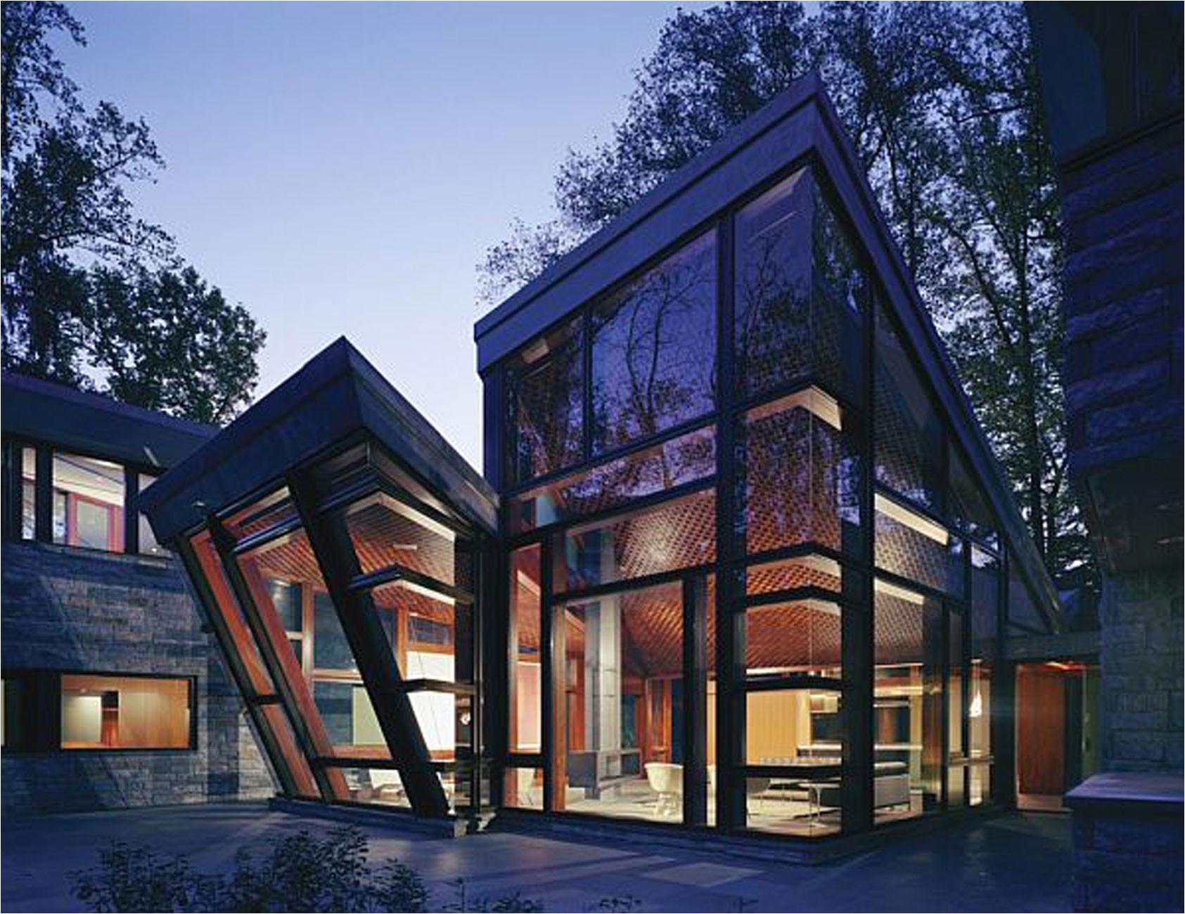 sunday evening art gallery glass houses
