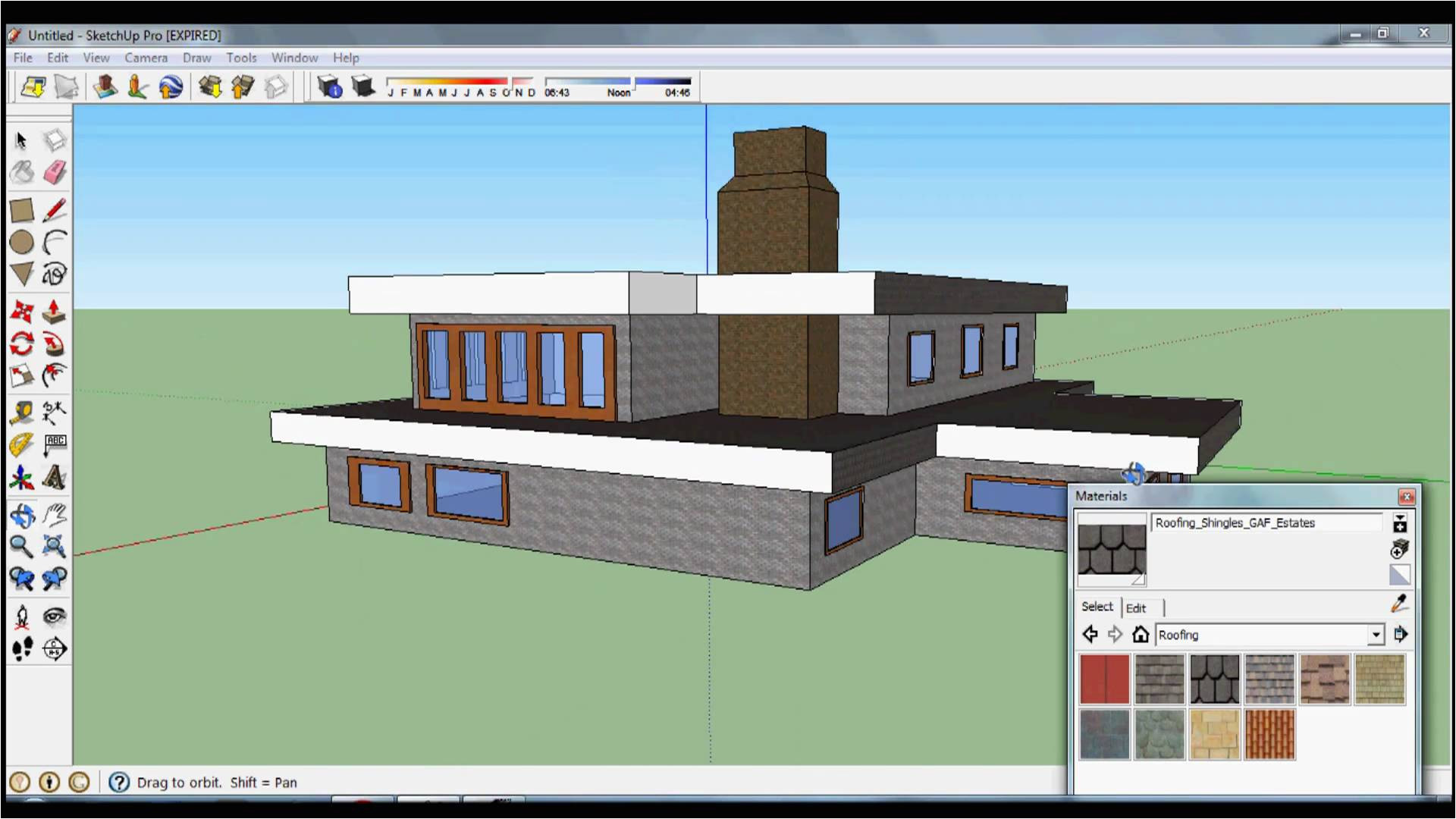 drawing house plans in sketchup