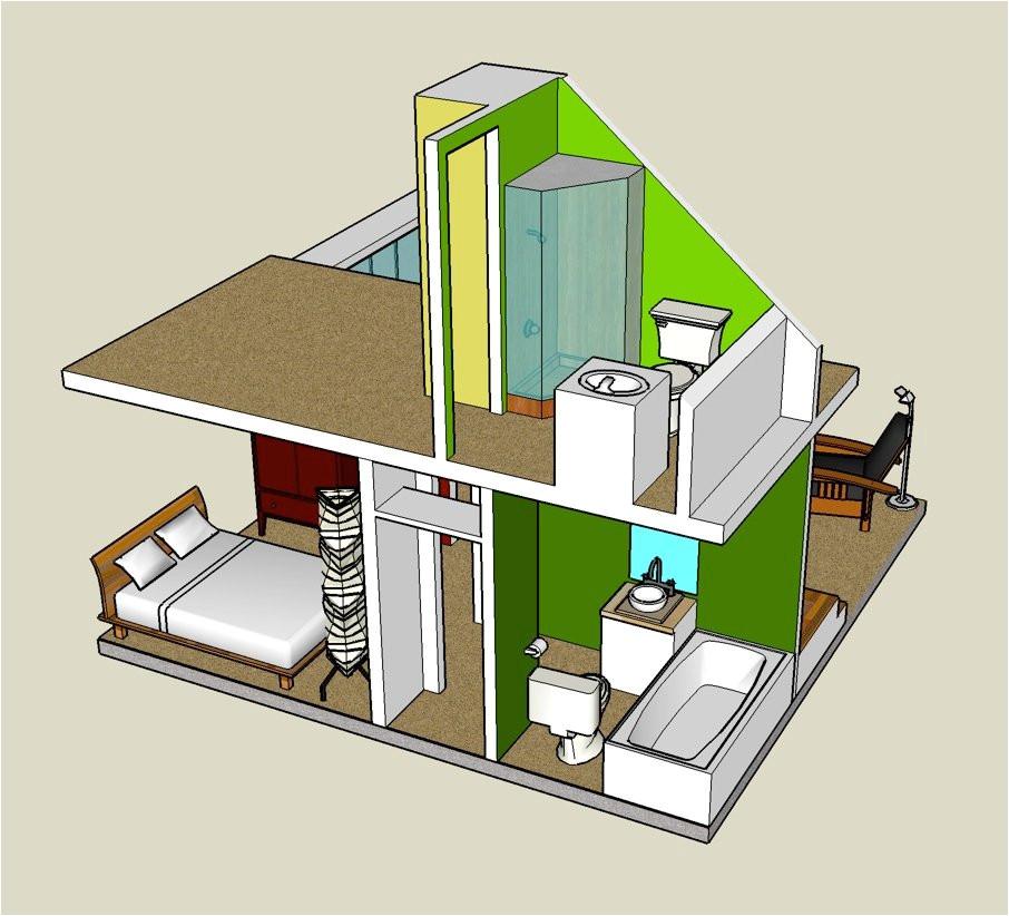 3d tiny house designs