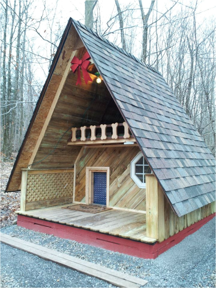 Great Dane Dog House Plans Relaxshacks Com A Giant Doghouse as A Tiny House
