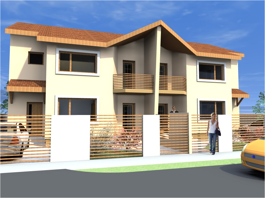 awesome small duplex house designs