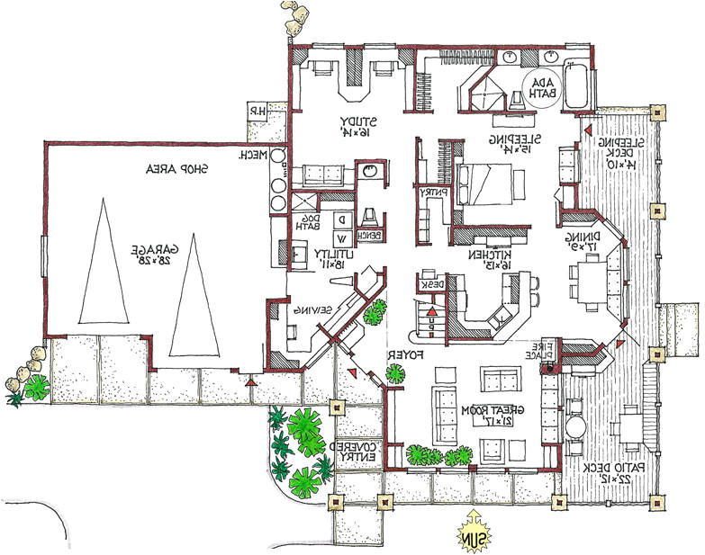 green house floor plans home designs 2