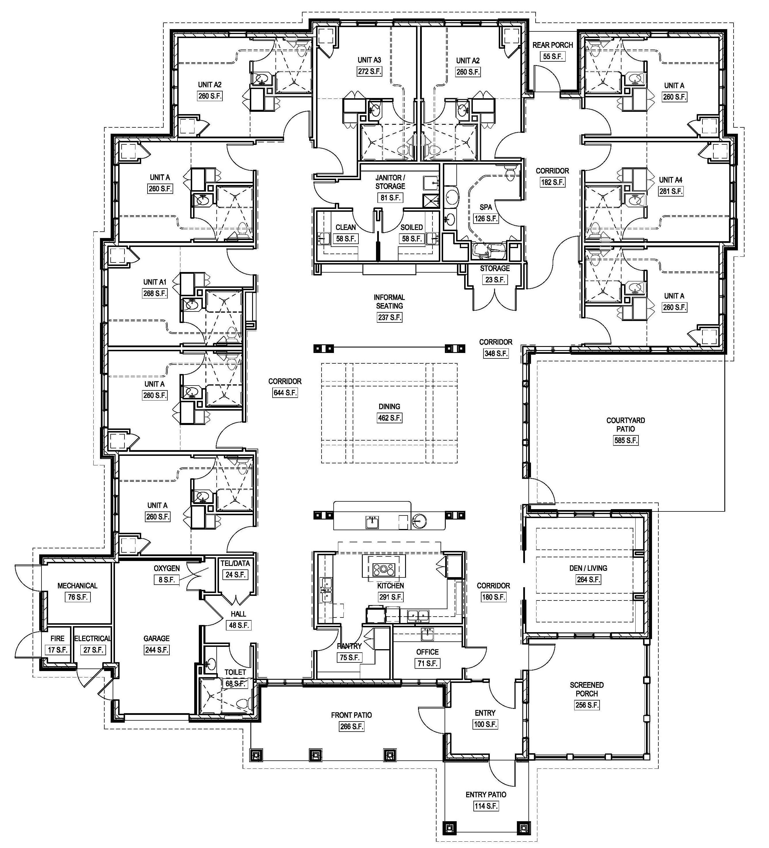 Green Home Floor Plans Greenhouse Project Floor Plans