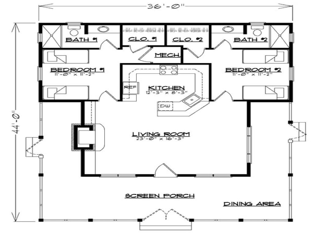 7bbbeef59b12d8f5 guest house floor plan guest cottage house plans