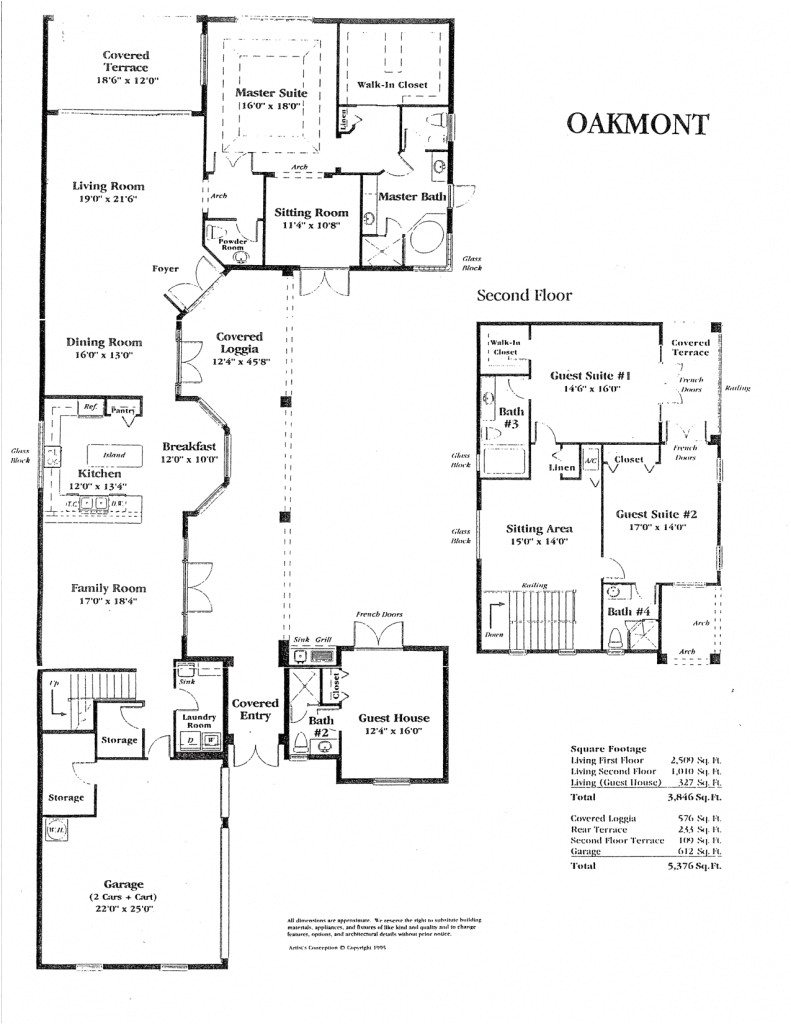 home floor plans with guest house