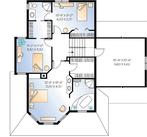compact guest house plan 2101dr