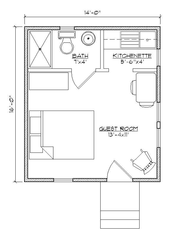 guest house floor plans