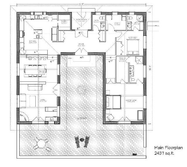 nice hacienda style house plans 4 hacienda house plans with courtyard