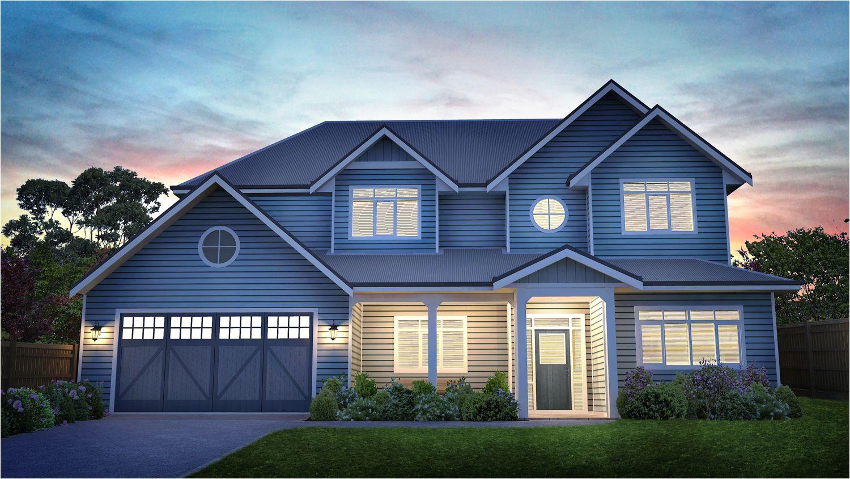 maple house hampton style home