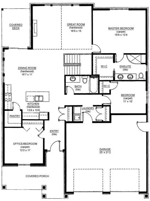 floor plan addition garage