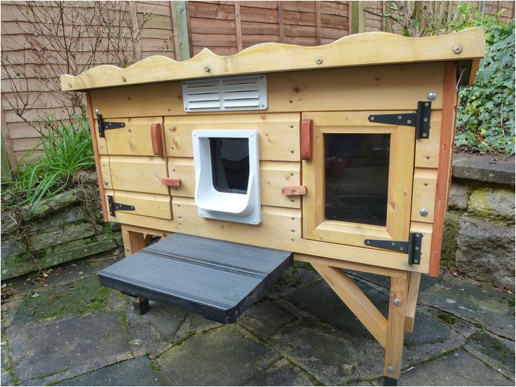 heated outdoor cat house plans