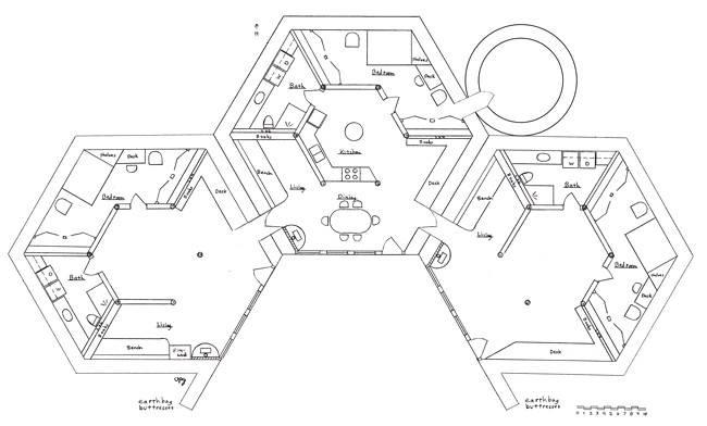 polygonal hexagonal etc