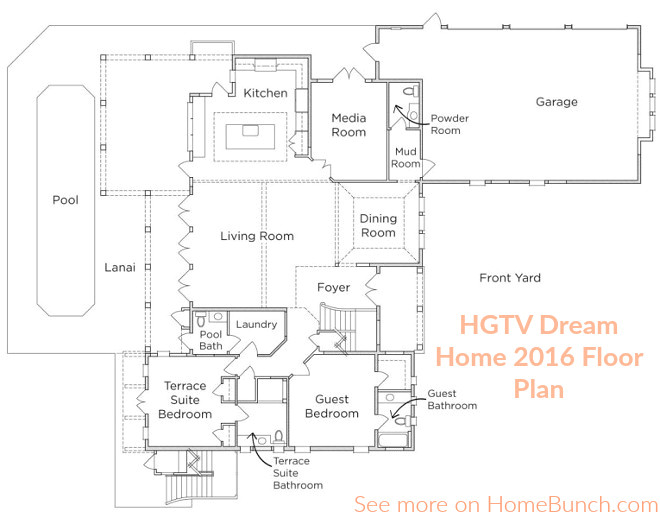 hgtv dream home 2005 house plans
