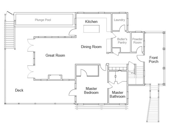 renderings and floor plan of hgtv dream home 2013