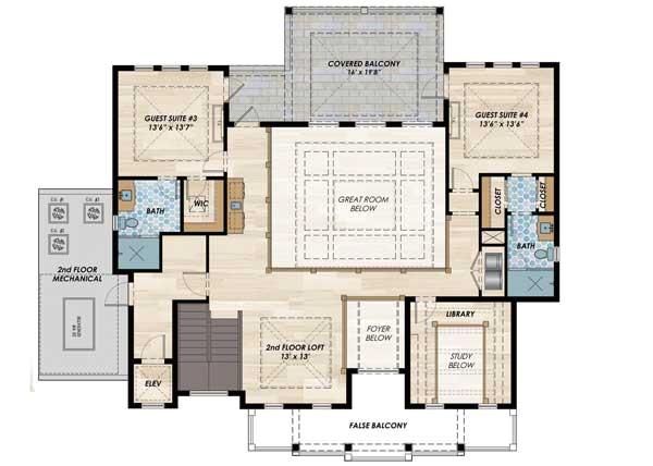 high end florida house plan 31838dn