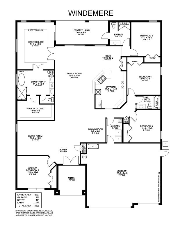 highland homes plans