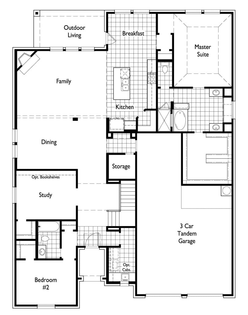 highland homes floor plans luxury new home plan 207 in prosper tx