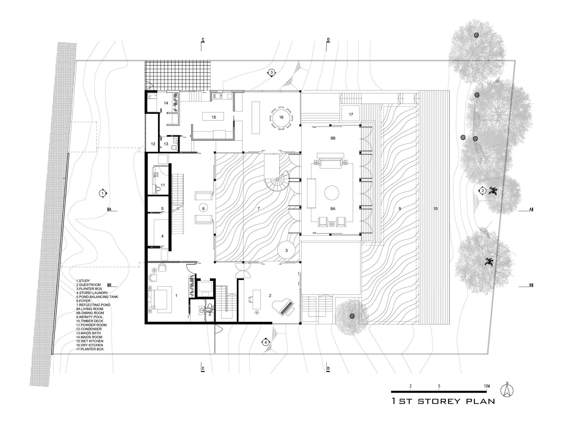 Hillside Home Floor Plans Hillside House Ar43 Architects Archdaily