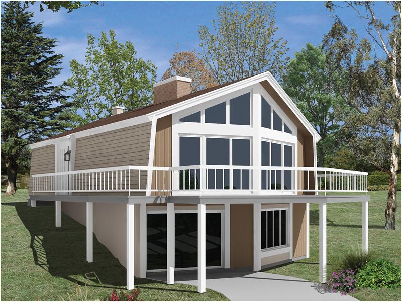 7 best simple hillside lake house plans ideas