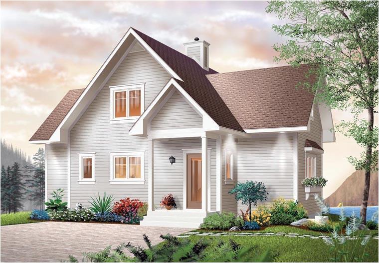 bungalow hillside house plans