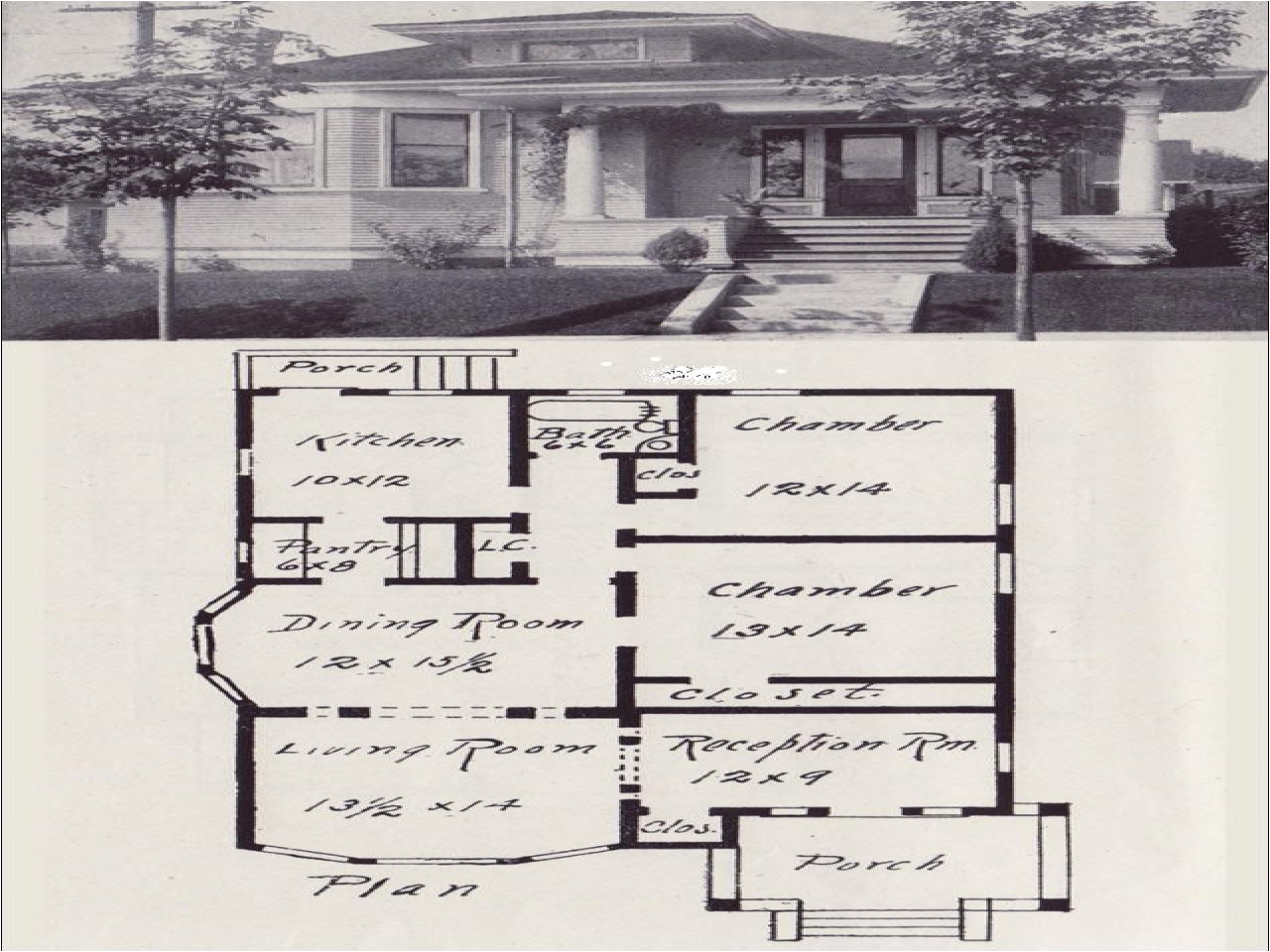 9339b3827fc7012b hip roof bungalow house plans hip roof house