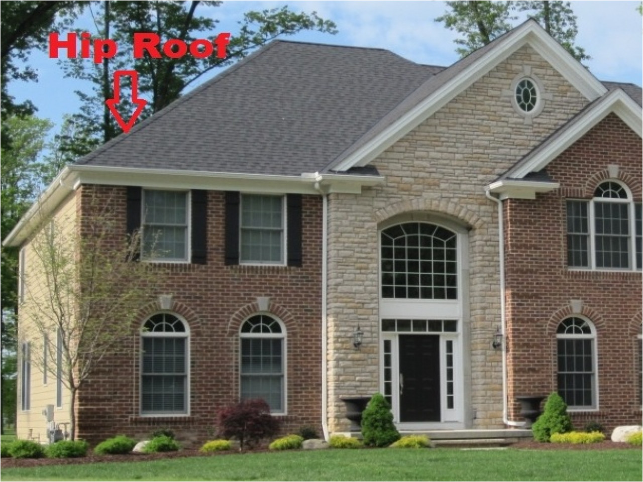 993358d112ae988b hip roof house styles hip roof house
