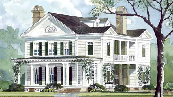 historic southern home plans
