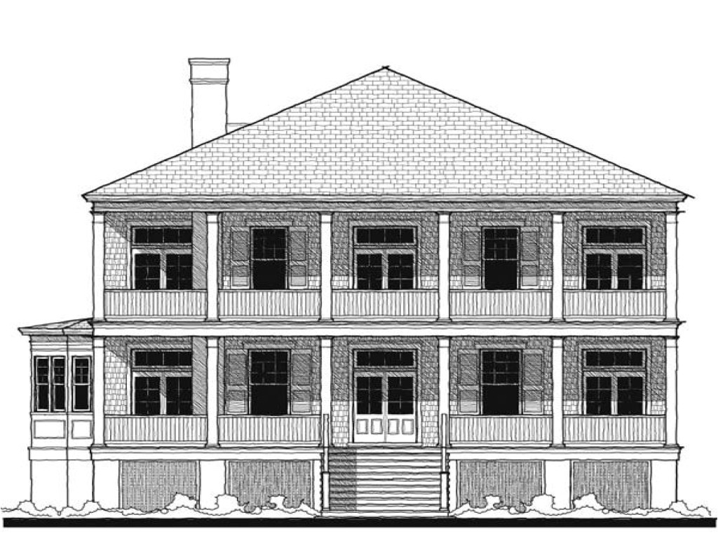 Historic southern Home Plans Historic southern House Plans Old southern House Plans