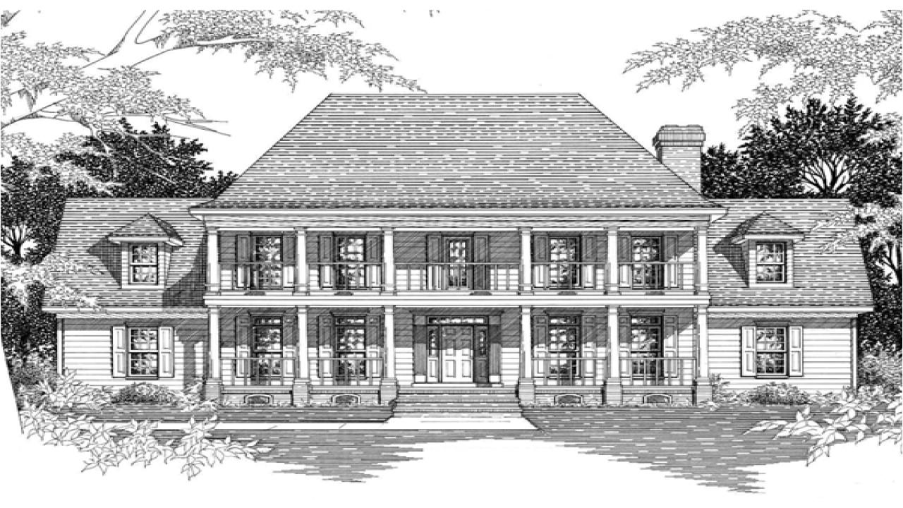 d14f294bbc09fff7 southern plantation home plans historic southern plantation house plans