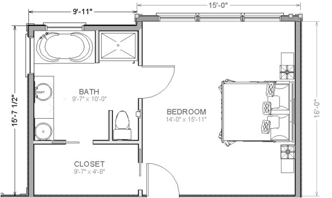 26 photos and inspiration master suite layouts
