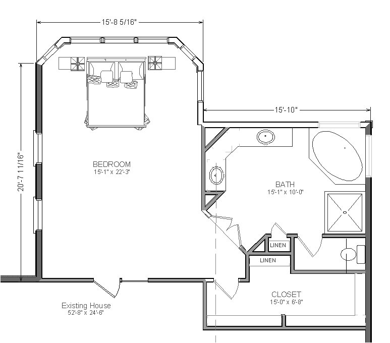 two master suite floor plans