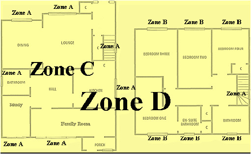 awesome home and auto security plan 2 security alarm floor plan