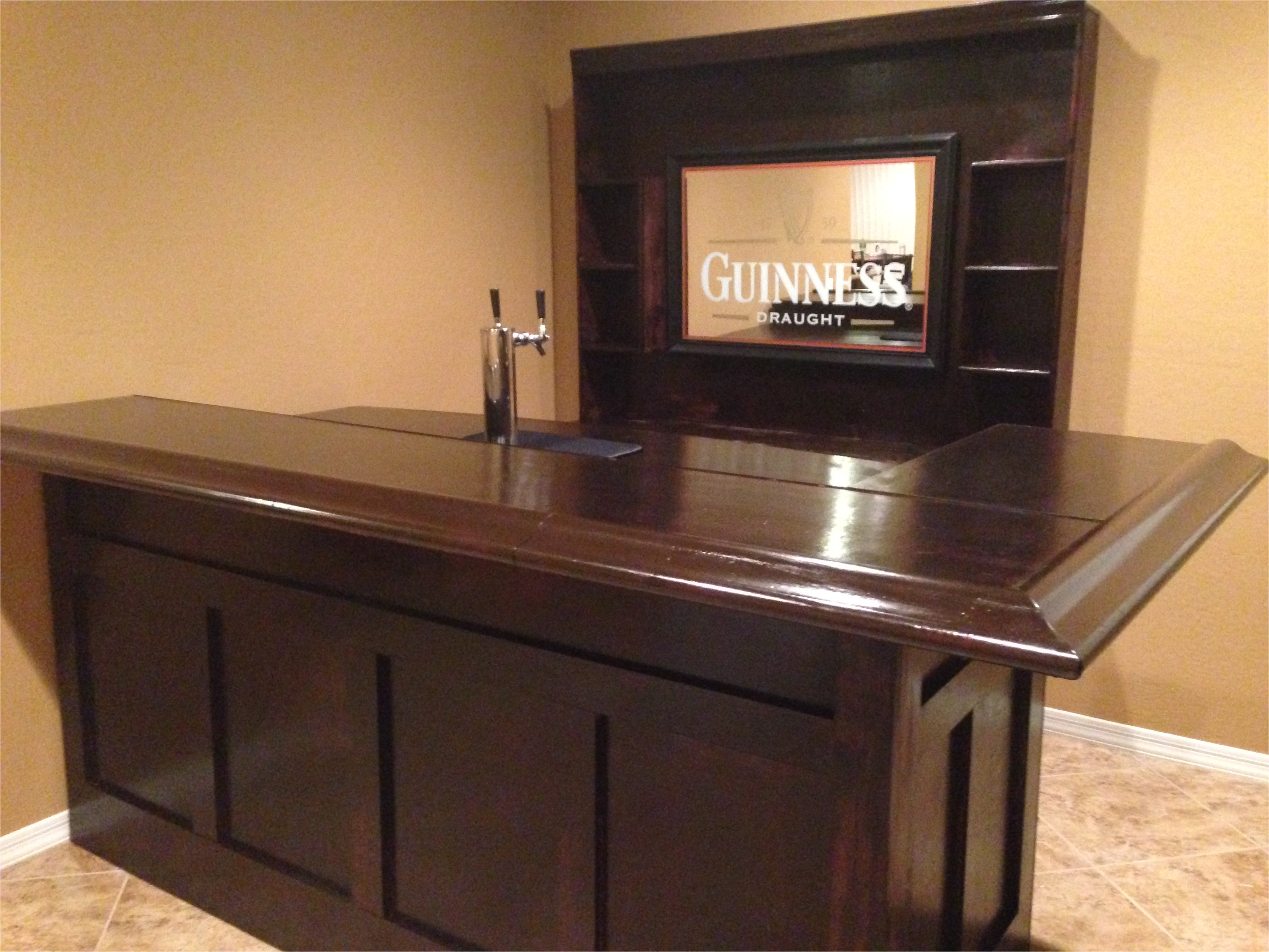 how to build your own home bar