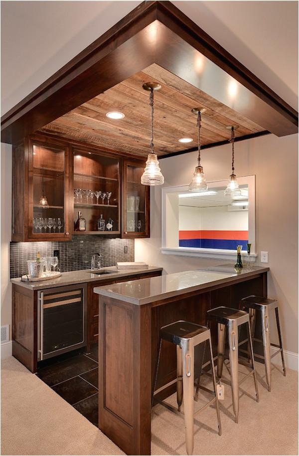 contemporary home bar design ideas