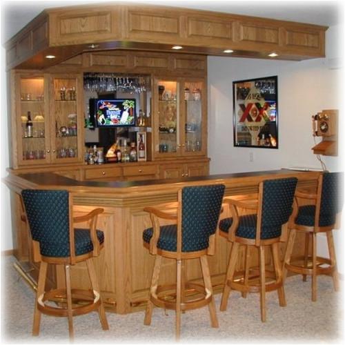 home built bar plans