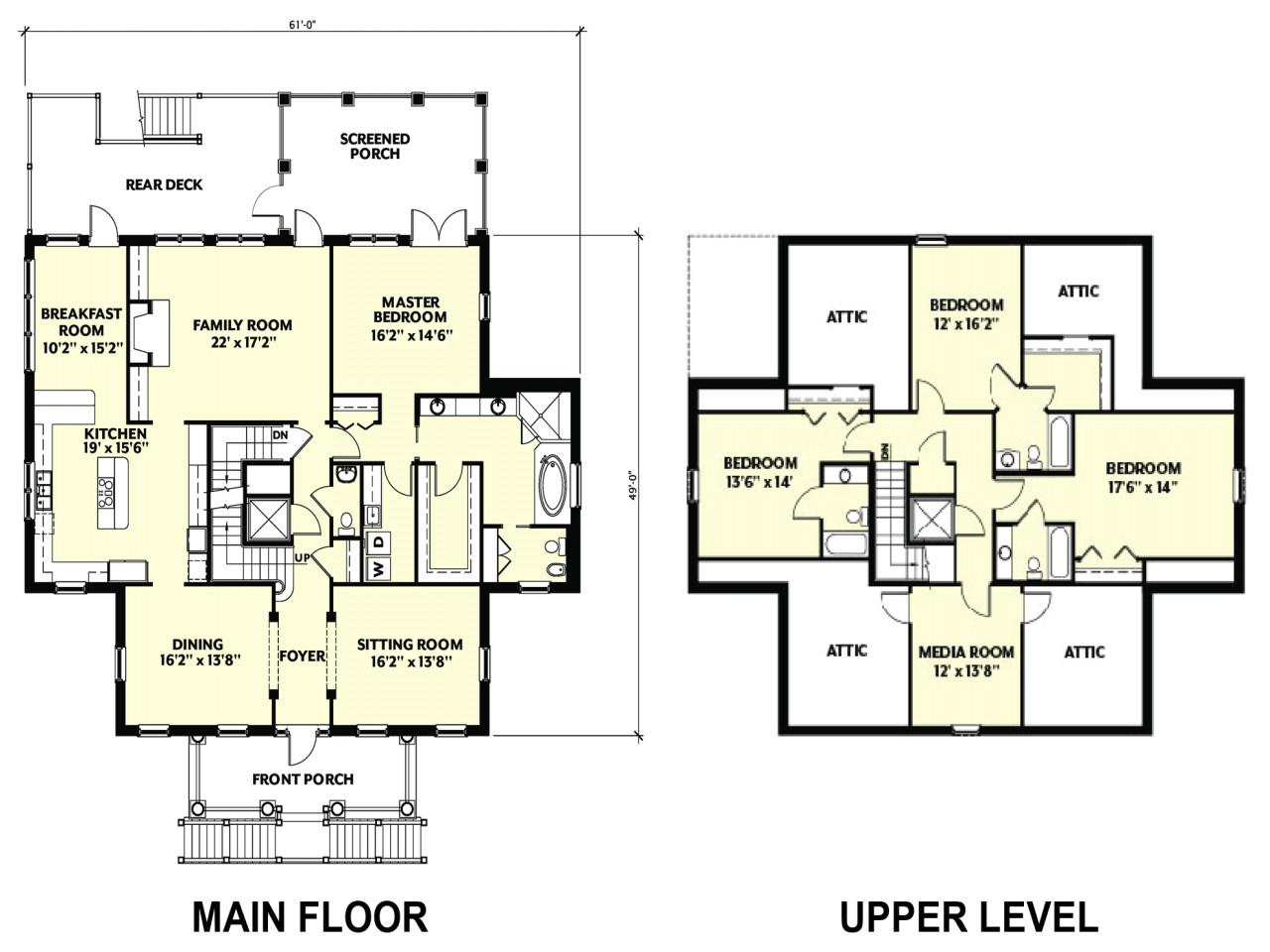 american barn house floor plans