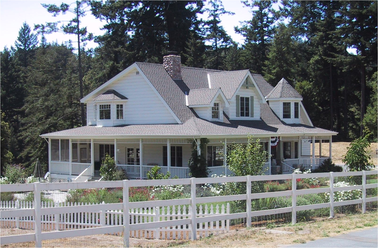 14474 country ranch house plans with wrap around porch