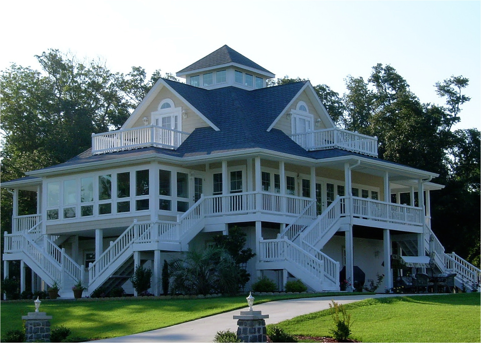 13683 house plans with wrap around porches southern living