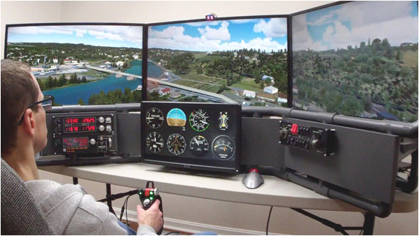 diy flight simulator cockpit plans order