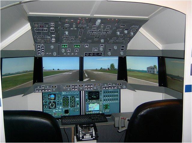 Home Built Flight Simulator Plans Homebuilt Flight Simulator