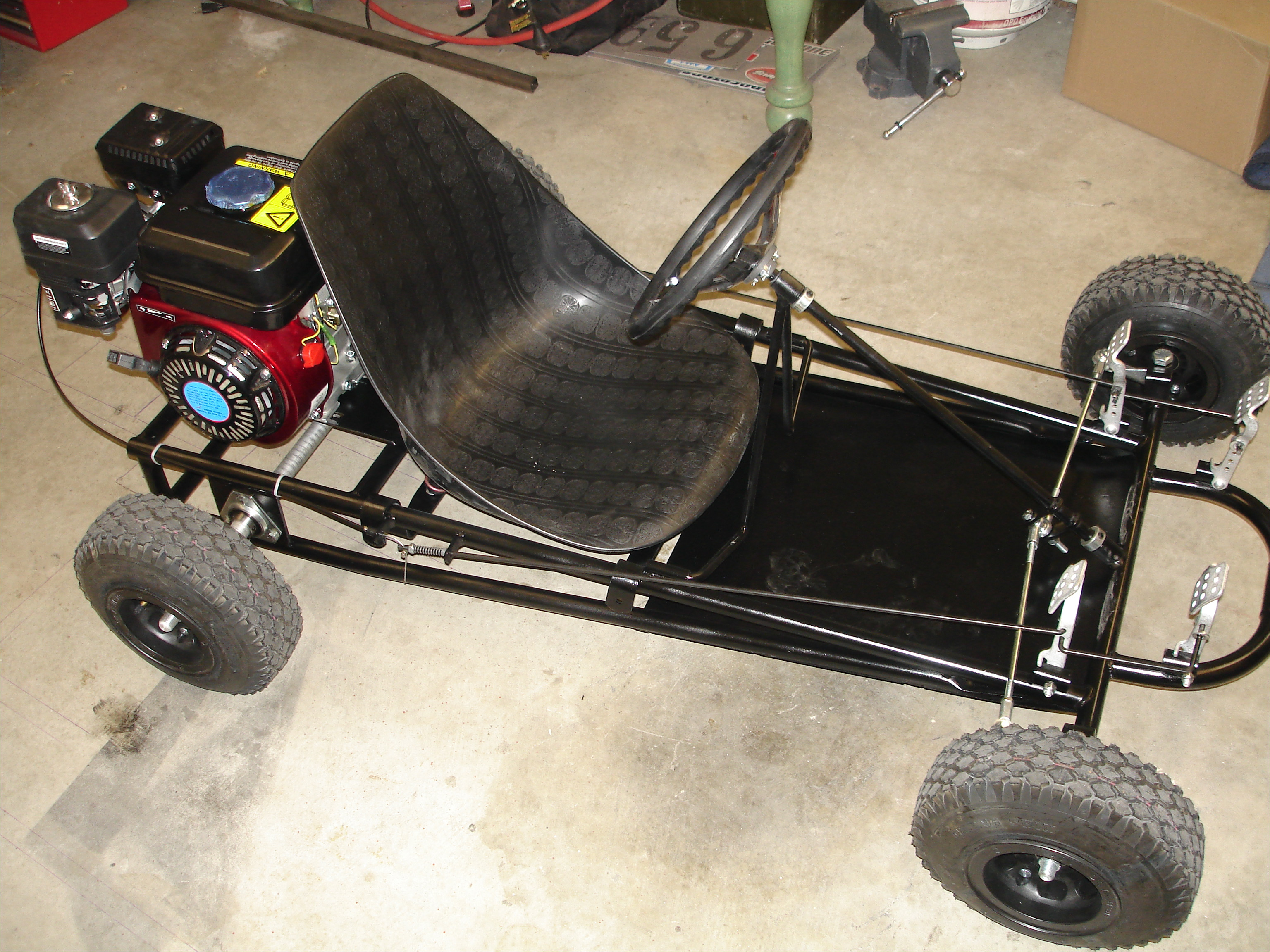 Home Built Go Kart Plans Go Karts Homemade Free Plans Floor Plans