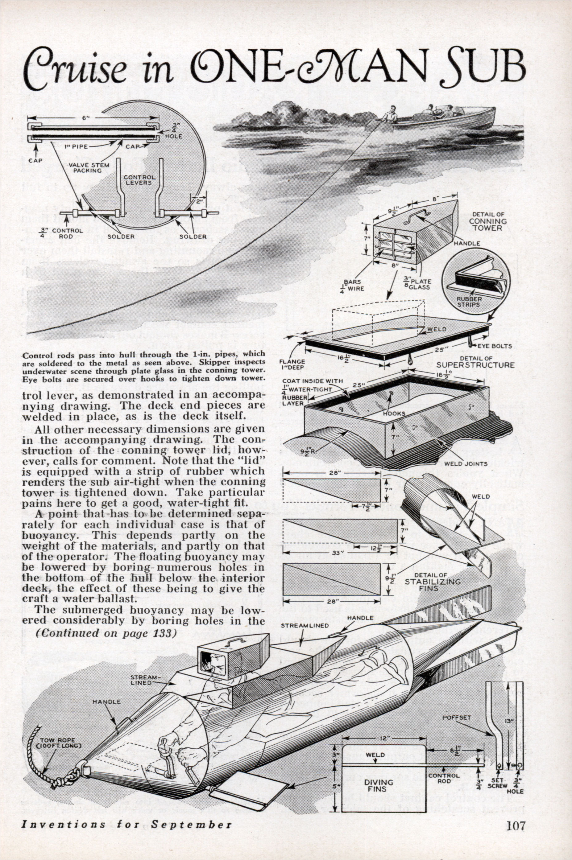 what ever became of home built submarines