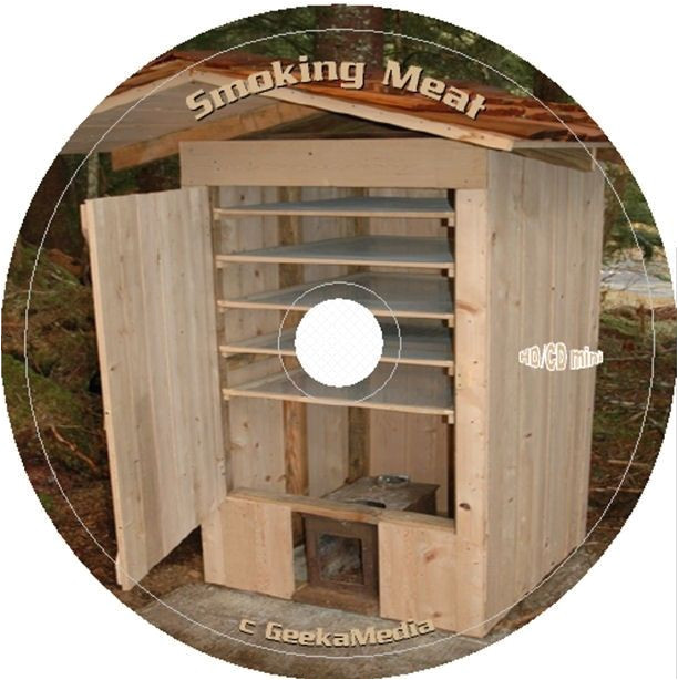 Home butcher Shop Plans Build A Food Smoker Smokehouse Plans Smoking Meat Recipes