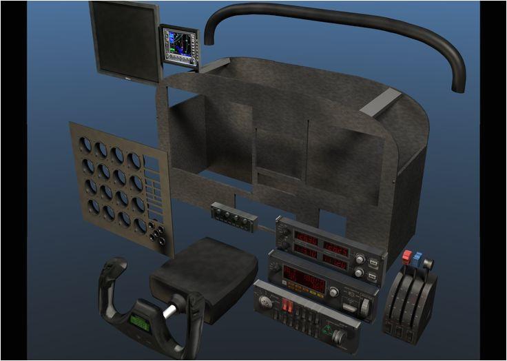 Home Cockpit Plans 114 Best Sim Cockpit Images On Pinterest Pilot Pilots