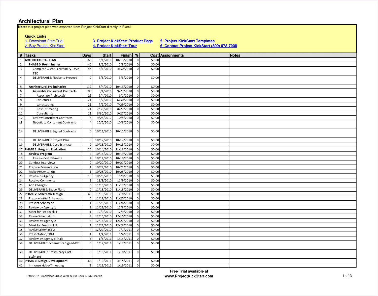construction schedule template excel free download x4562