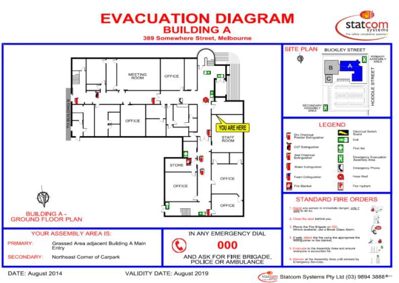 Home Daycare Fire Evacuation Plan Home Emergency Evacuation Plan Homes Floor Plans